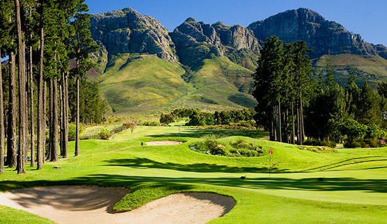 Golf and spa holiday at Erinvale Estate.