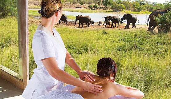 Safari spa at Kapama Wellness Spa.