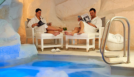 Spa facilities at Twelve Apostles Spa in Cape Town, South Africa.